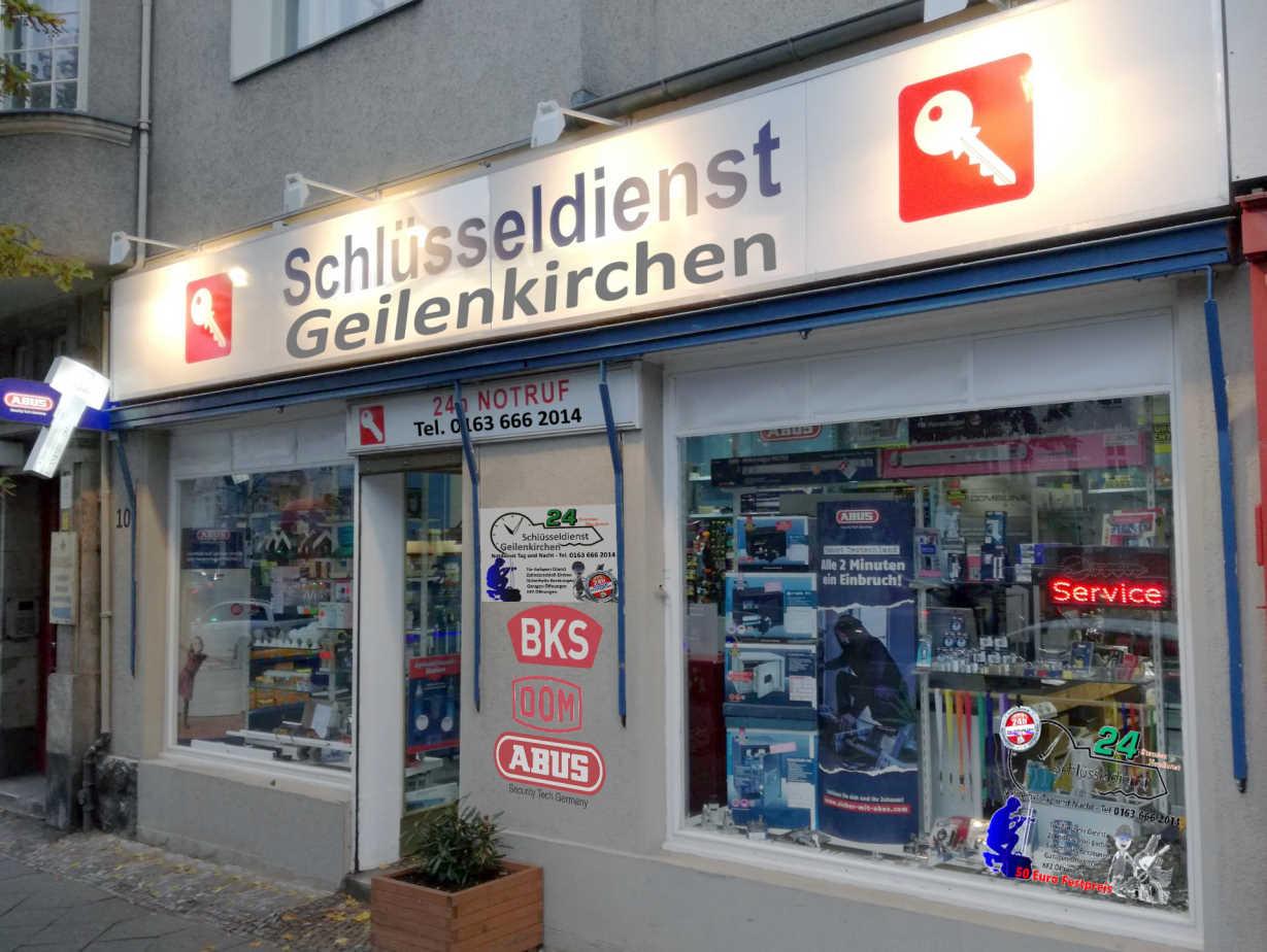 Schlüsseldienst Geilenkirchen Notdienst Tag und Nacht